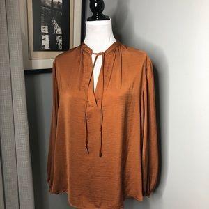 H&M peasant blouse